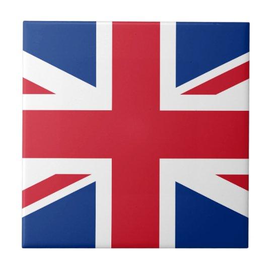 Union Jack United Kingdom Tile