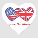Union Jack/USA Stickers