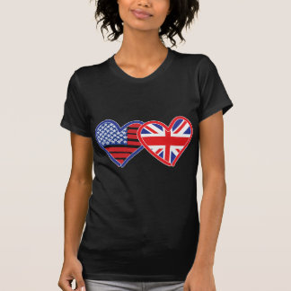 Union Jack/USA T-Shirt