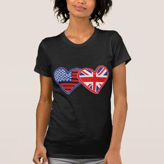 Union Jack/USA T-Shirt