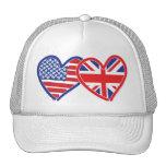 Union Jack/USA Trucker Hats