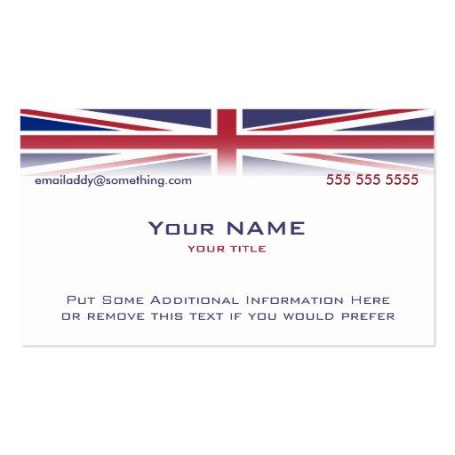 Union Jack version 1 Business Cards