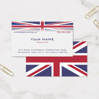 Union Jack version 2 Business Card