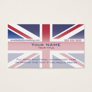 Union Jack version 3 Business Card