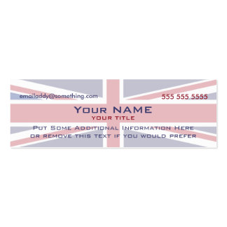 Union Jack version 4 Business Card