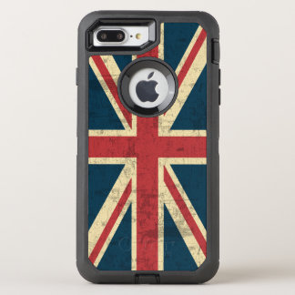 Union Jack Vintage British Flag OtterBox Defender iPhone 7 Plus Case