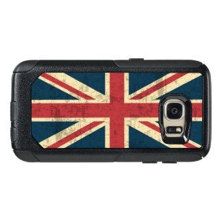 Union Jack Vintage British Flag OtterBox Samsung Galaxy S7 Case