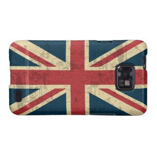 Union Jack Vintage Distressed Samsung Galaxy S2 Case