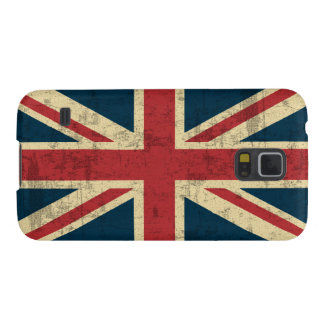 Union Jack Vintage Distressed Case For Galaxy S5