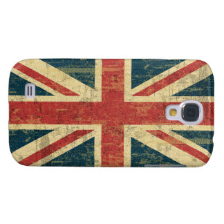 Union Jack Vintage Distressed Galaxy S4 Cover