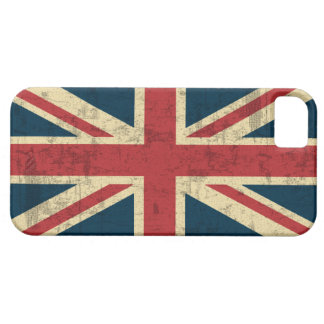 Union Jack Vintage Distressed Case For The iPhone 5