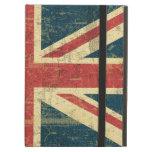 Union Jack Vintage Distressed iPad Cover