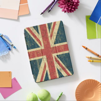 Union Jack Vintage Distressed iPad Pro Cover