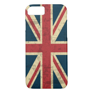Union Jack Vintage Distressed iPhone 7 Case