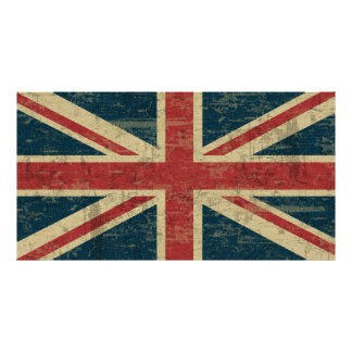 Union Jack Vintage Distressed Poster