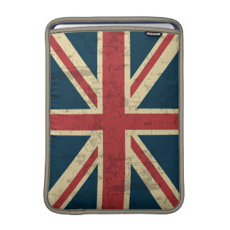 Union Jack Vintage Distressed Sleeve For MacBook Air