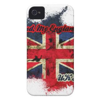 UNION JACK VINTAGE UK PASSION Case-Mate iPhone 4 CASE
