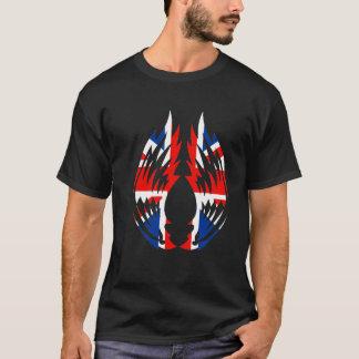 Union Jack Wings (Black) T-Shirt