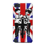 Union Jack with retro scooter boy and girl iPod Touch 5G Case