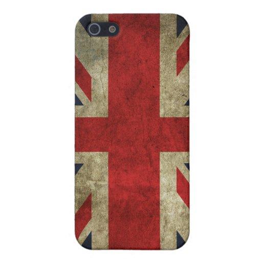 Union Jack - Worn iPhone 5 Cases