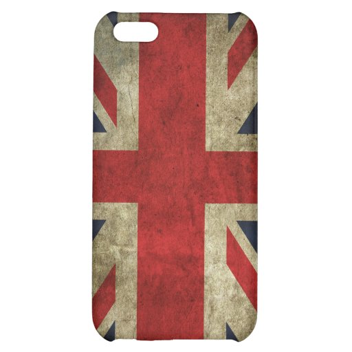 Union Jack - Worn Cover For iPhone 5C