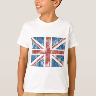 Union Jack worn T Shirt