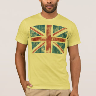 Union Jack worn T-Shirt