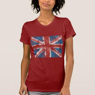 Union Jack worn Tees