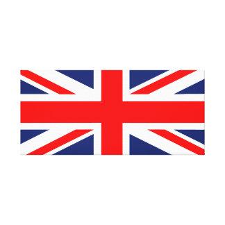 Union Jack Wrapped Canvas