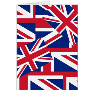 Union Jacks Galore Card