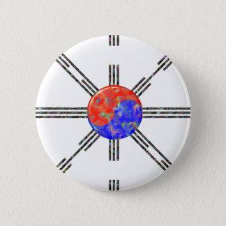 Union Korea 6 Cm Round Badge