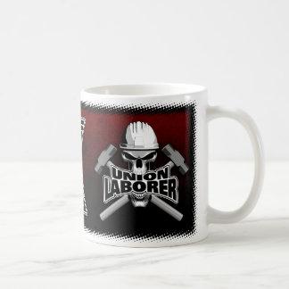 Union Laborer Skull Coffee Mug