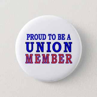 UNION MEMBER 6 CM ROUND BADGE