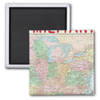 Union Military Chart Magnet