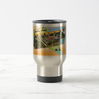 Union New Jersey NJ Old Vintage Travel Postcard- Travel Mug