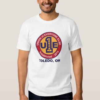 UNION of EVERYONE ELSE / TOLEDO Tee Shirt