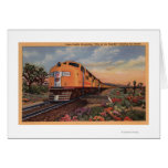 """Union Pacific Railroad """"City of Los Angeles"""" Card"""