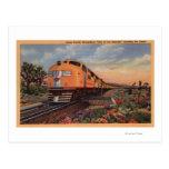 "Union Pacific Railroad ""City of Los Angeles"" Postcard"