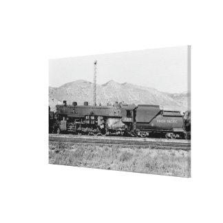 Union Pacific Railroad Engine 5312 Canvas Print