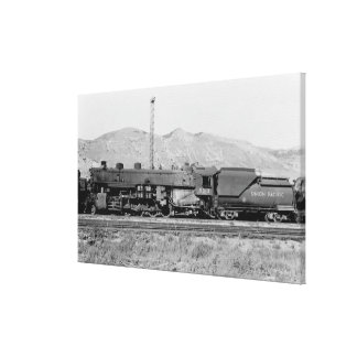 Union Pacific Railroad Engine #5312 Stretched Canvas Print