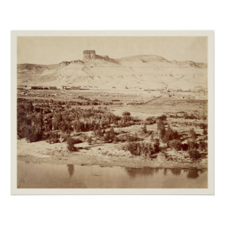 Union Pacific Railroad Green River Wyoming Photo Poster