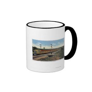 "Union Pacific Streamliner ""City of Denver"" Coffee Mugs"