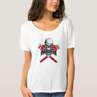 Union Pipefitter: Skull and Wrenches T-Shirt