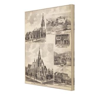 Union Presbyterian, Minnesota Canvas Print