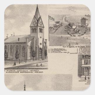 Union Presbyterian, Minnesota Square Sticker