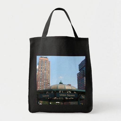 Union Square Subway NYC Bags