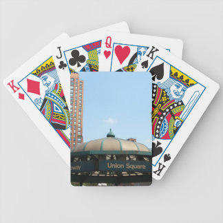Union Square Subway NYC Card Deck