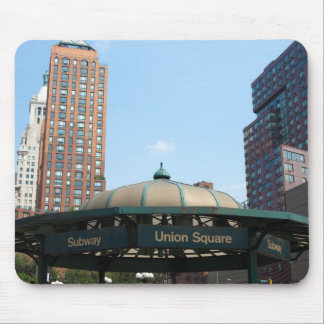 Union Square Subway NYC Mouse Pads