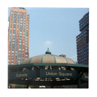 Union Square Subway NYC Tile