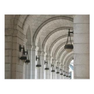 Union Station Arches Postcard